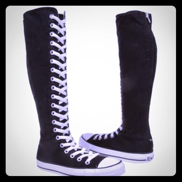 70d713e15415d4 Converse Shoes - Converse Allstar XXHI Knee Hi tennis shoes. 5M 7W